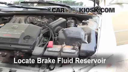 2000 Toyota Avalon XLS 3.0L V6 Brake Fluid Check Fluid Level
